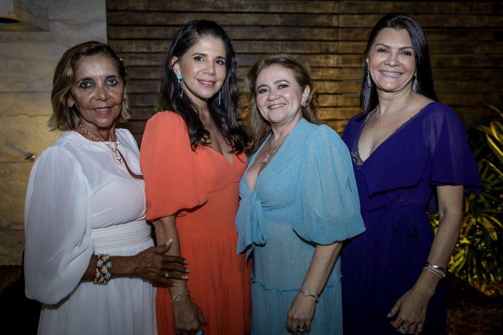 Ines Mesquita, Maria Lucia Carapeba, Nekita Romcy E Liliana Farias
