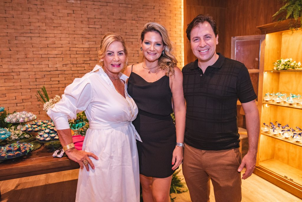 Itala Padilha, Rachel Fortes E Danilo Cavalcante