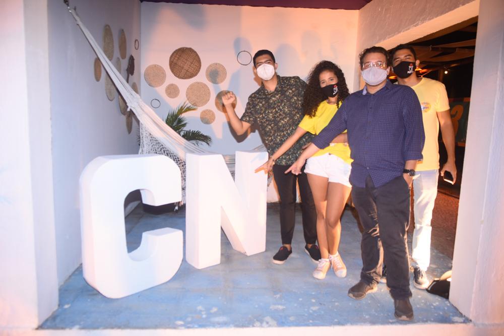 Leonardo Victor, Sara Araújo, Ryco Daniel E Thiago Vasconcelos