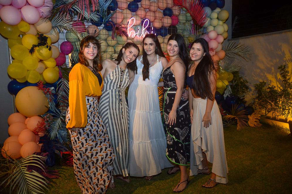 Liza Fontenele, Sofia Romero, Bibi De Castro, Raissa Moura