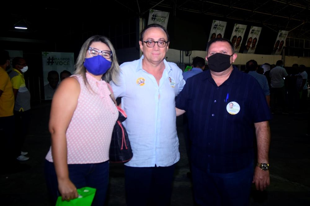 Lúcia De Fátima, Tin Gomes E Coronel Passos