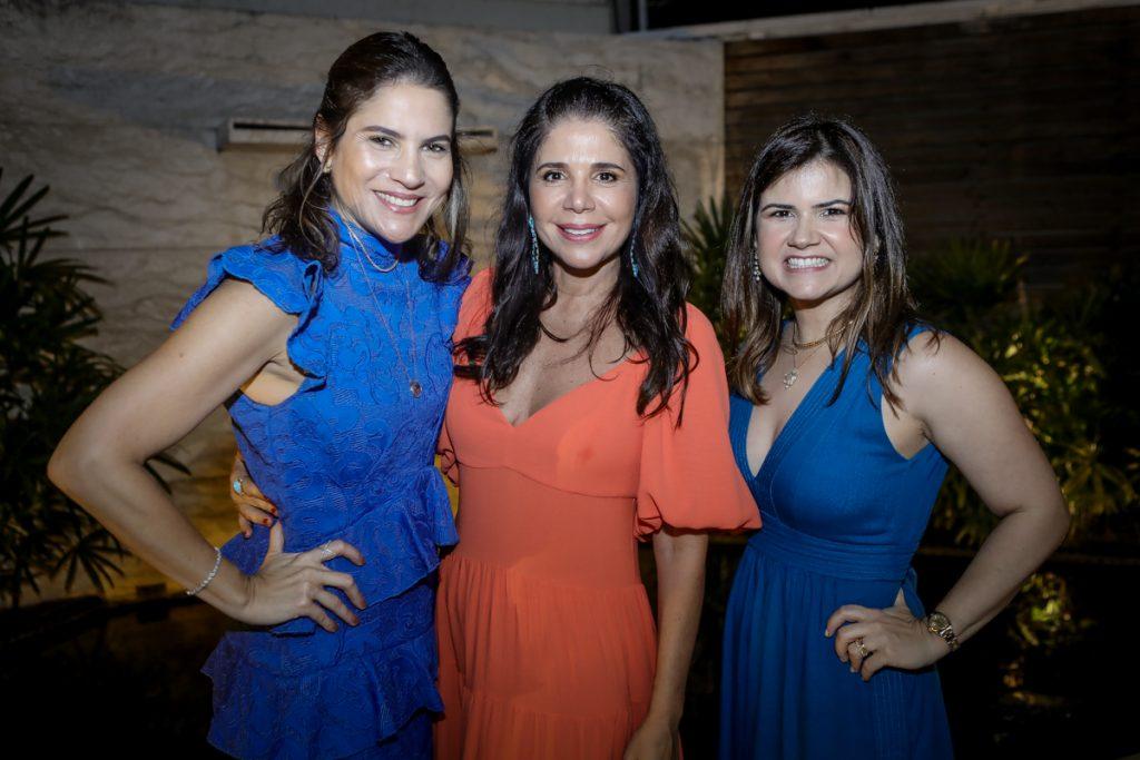 Luciana Borges, Maria Lucia Carapeba E Ticiana Brigido (2)