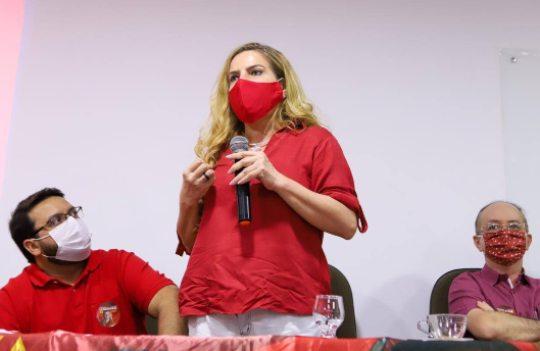 Luizianne Lins diz que vai combater o alto desemprego do pós-pandemia