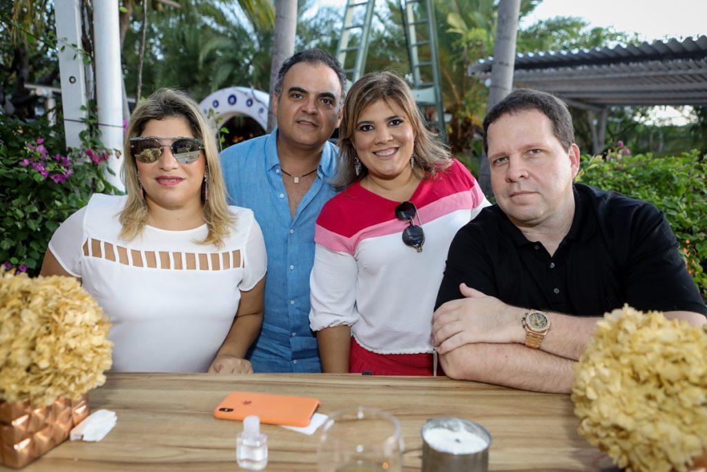 Manu Romcy, Hebert E Gisela Vieira, Edson Ventura Filho