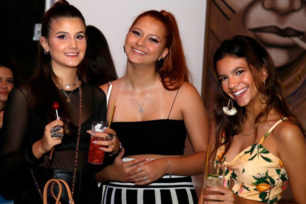 Manuela Parente, Rafaela Leitao E Larissa Herculano
