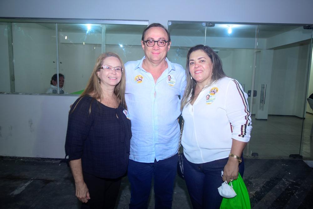 Marcia Aquino, Tin Gomes E Niedja Mariele