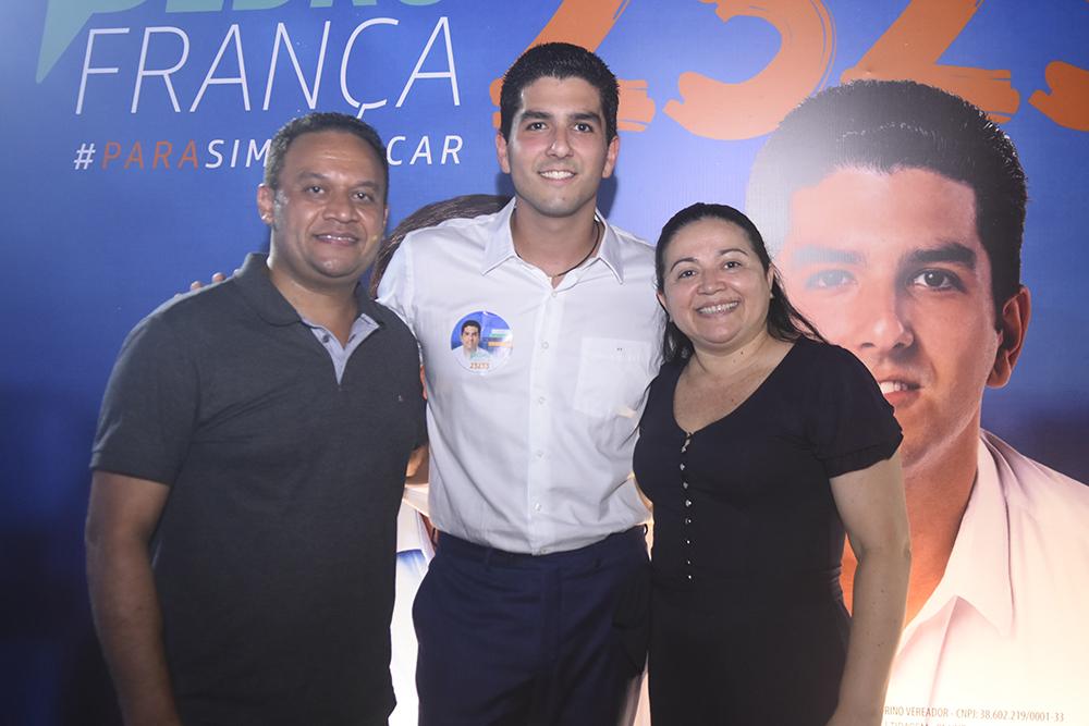 Marcos Monteiro, Pedro França E Rejane Costa