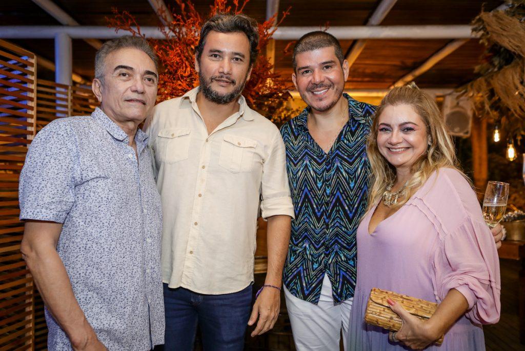 Marcos Monteiro, Thiago Falcao, Helrisom Dias E Cris Camelo