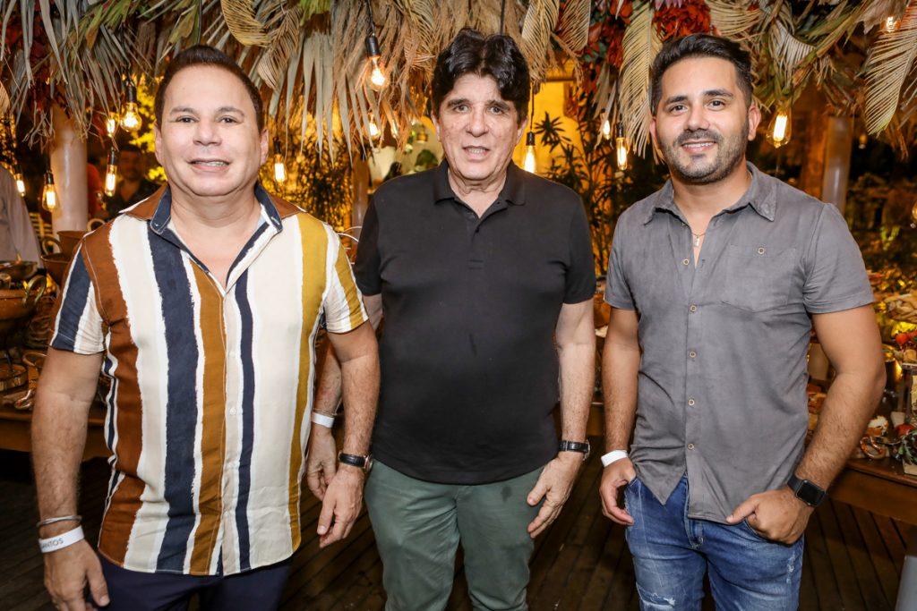 Marfrenze Sousa, Dito Machado E Julio Alves