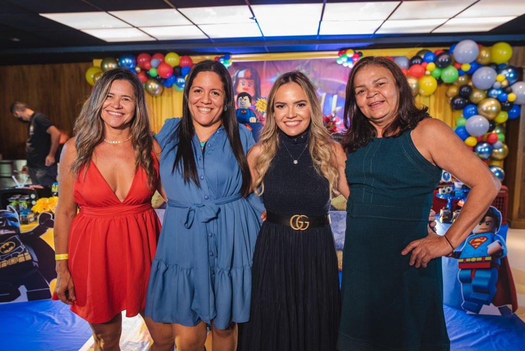 Maria Francisca, Arina Lima, Barbara Rabelo E Juliana Alexandre