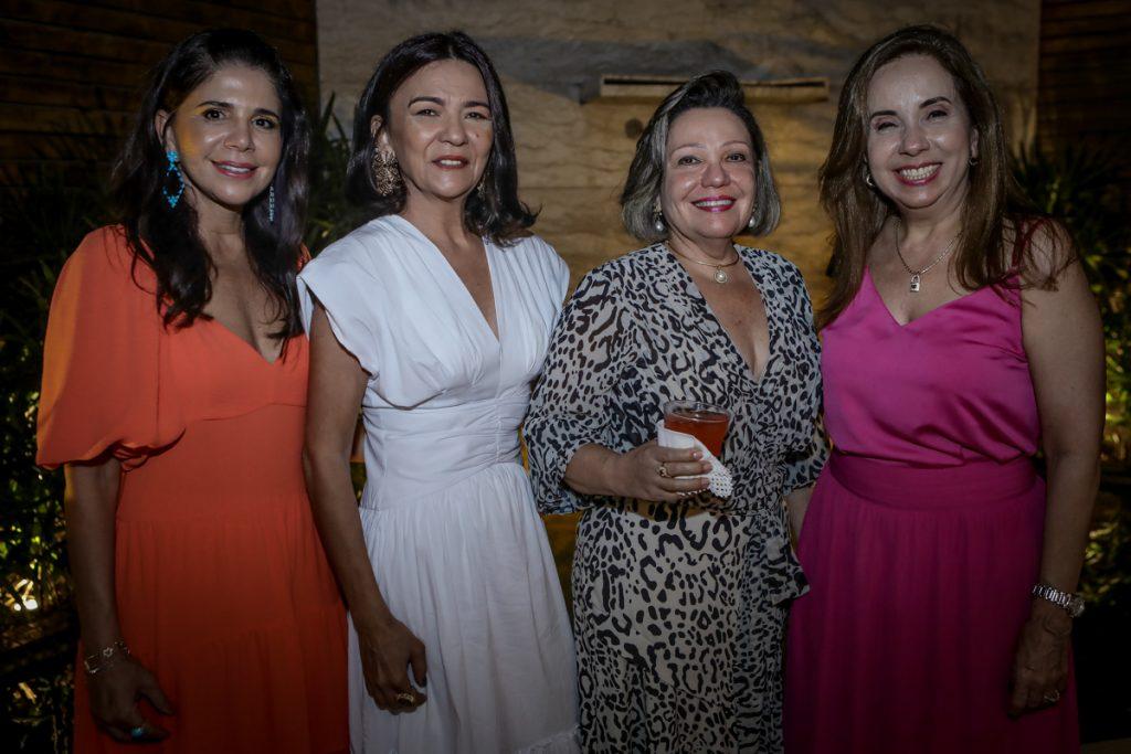 Maria Lucia Carapeba, Guiomar Feitosa, Fernanda Jensen E Cristiane Figueiredo