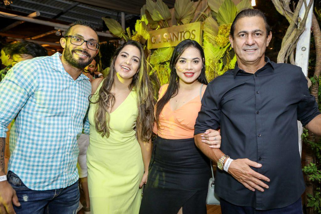 Mateus Gama, Marina Chaves, Rosangela Gomes E Brets De Castro