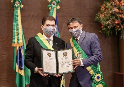 Mauro Filho recebe justa homenagem por parte do Governo do Estado do Piauí