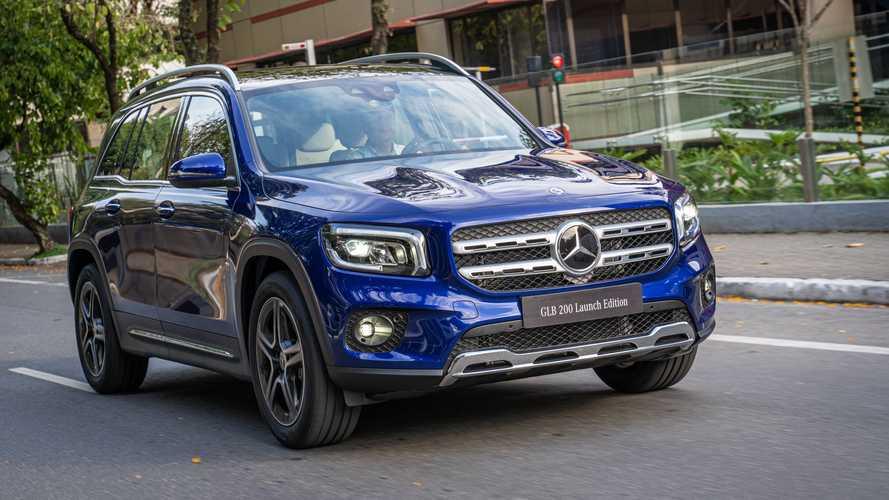 Novo GLB a qualquer momento aporta na Newsedan Mercedes-Benz