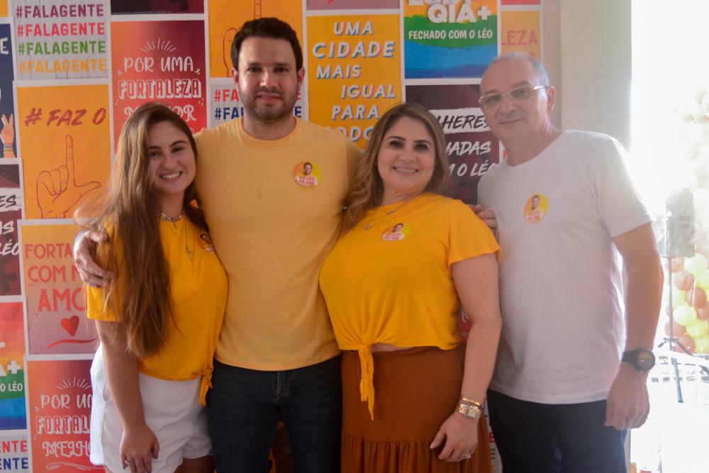 Mylena Couto, Léo Couto, Melissa Couto E Márcio Liberato