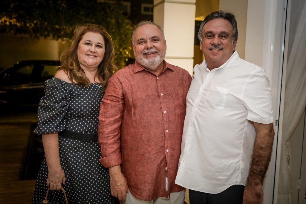Naise Moreira, Pedro Carapeba E Mario Jorge