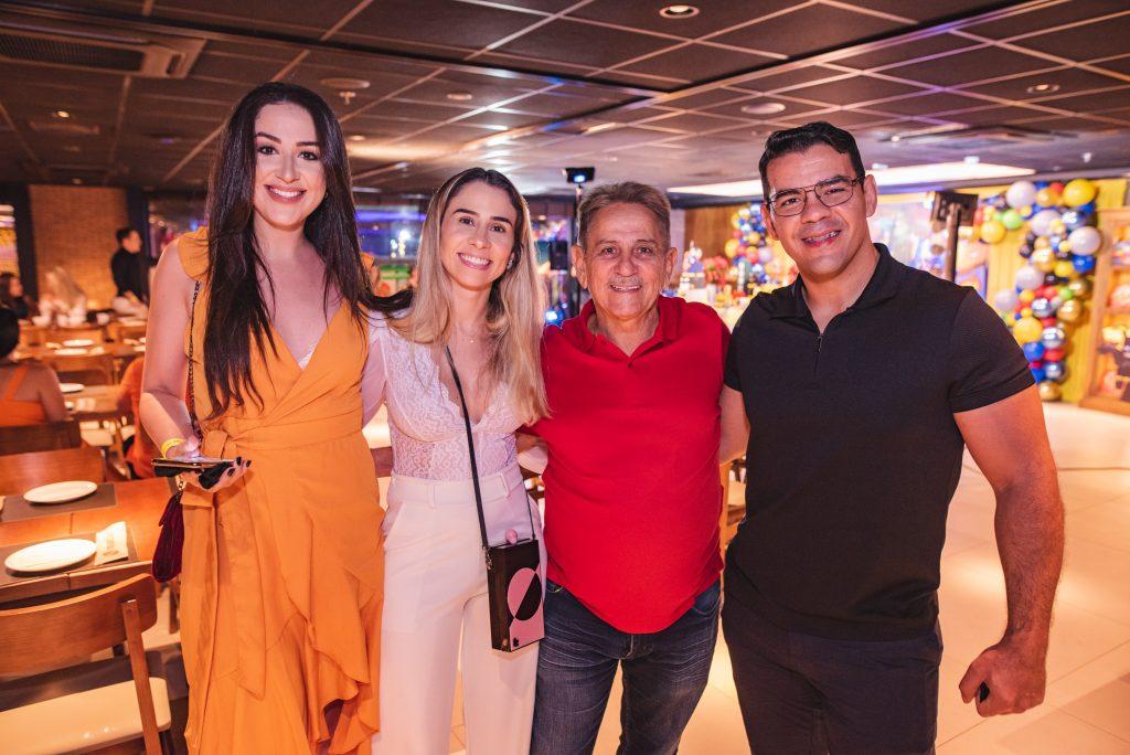 Natalia Duarte, Ilana Rabelo, Eugenio Rabelo E Flavio Rolim