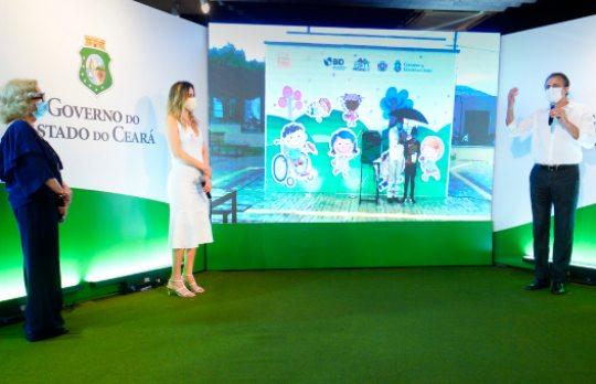 Camilo e Onélia Santana entregam nova Praça Mais Infância em Juazeiro do Norte