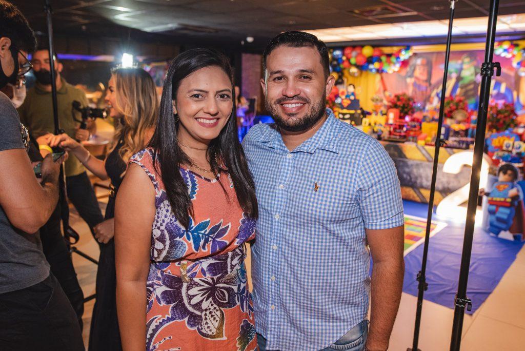 Patricia Marinho E Frankelmo Matos