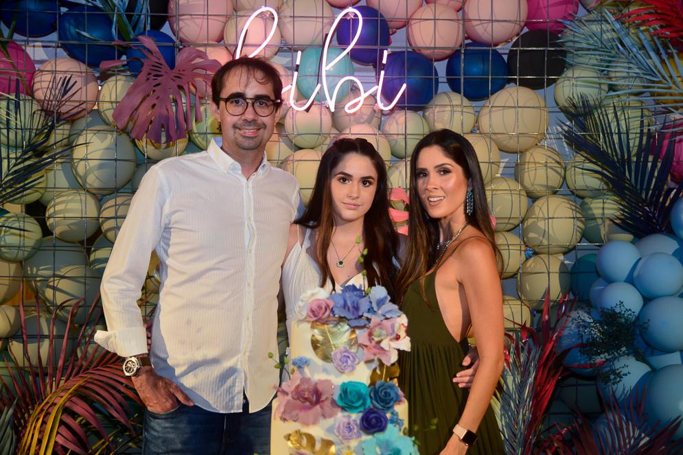 Pedro, Bibi E Manoela De Castro (2)
