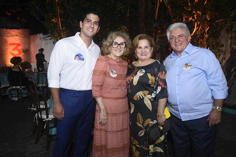 Pedro França realiza jantar de apoio a candidatura em seu comitê na Santos Dumont