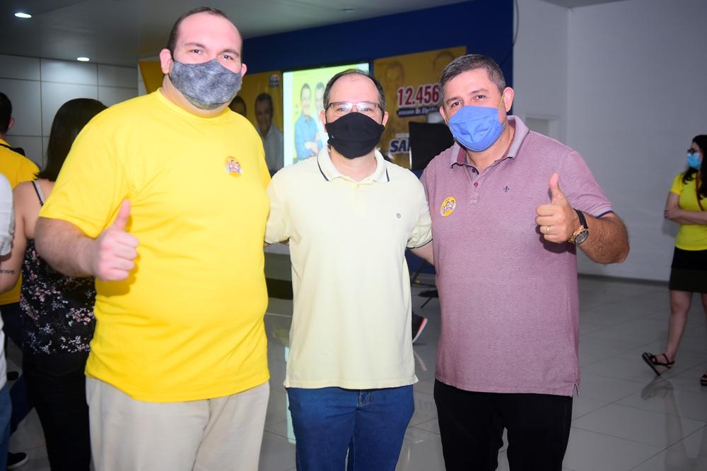 Pedro Ivo, Renato Borges E Tércio Queiroz