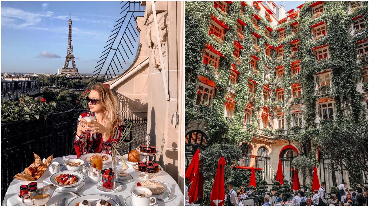 As festividades de fim de ano são mais sofisticadas e elegantes no Hotel Plaza Athénée
