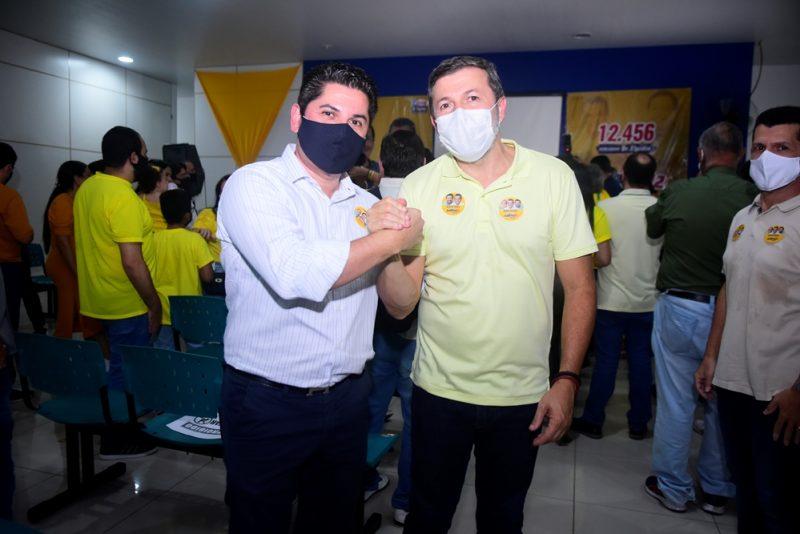 Corrida Eleitoral - Com a presença de Sarto e Élcio Batista, Elpídio Nogueira inaugura oficialmente seu comitê de campanha