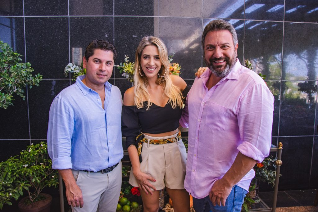 Pompeu Vasconcelos, Renata Garcia E Mario Sergio (1)