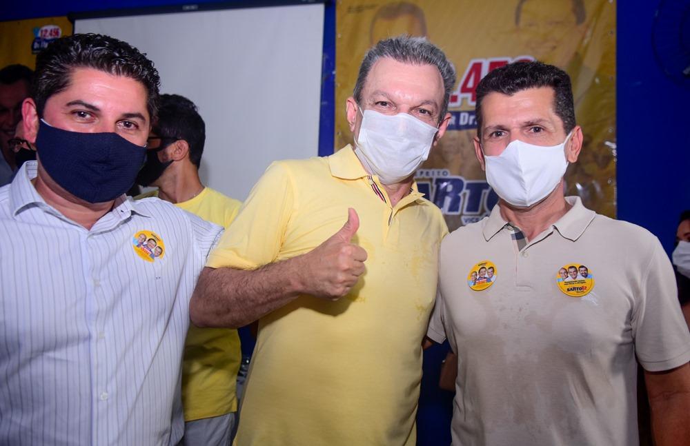 Pompeu Vasconcelos, Sarto Nogueira E Erick Vasconcelos (1)