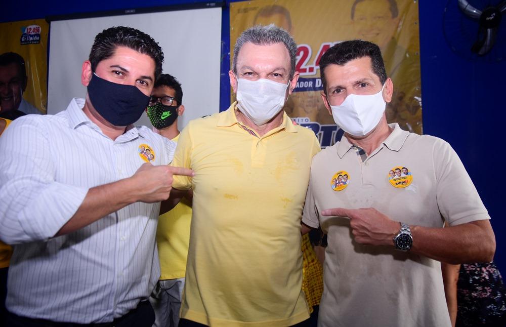 Pompeu Vasconcelos, Sarto Nogueira E Erick Vasconcelos (2)