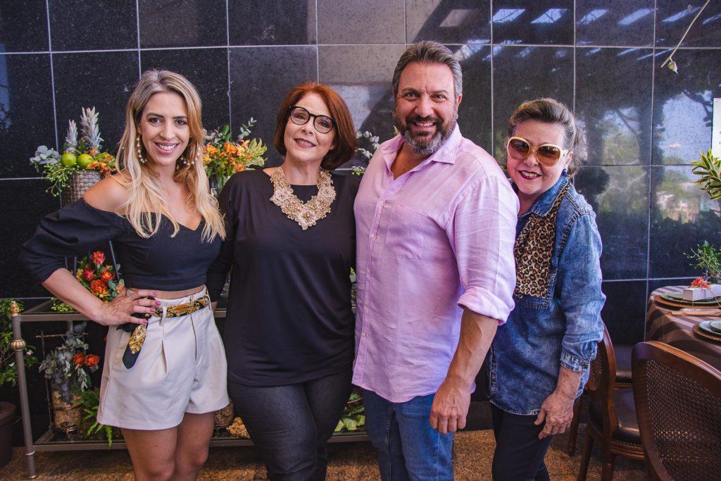 Renata Garcia, Mimosa Pessoa, Mario Sergio E Marilza Pessoa