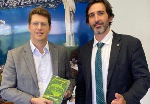 Lucas Fiuza e Ricardo Salles querem acelerar as concessões dos Parques Nacionais de Ubajara e Jericoacoara