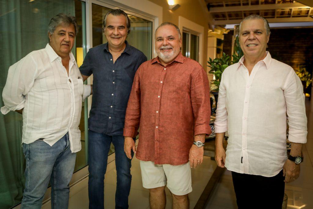 Roberto Romcy, Luis Carlos Aguiar, Pedro Carpeba E Claudio Studart (1)