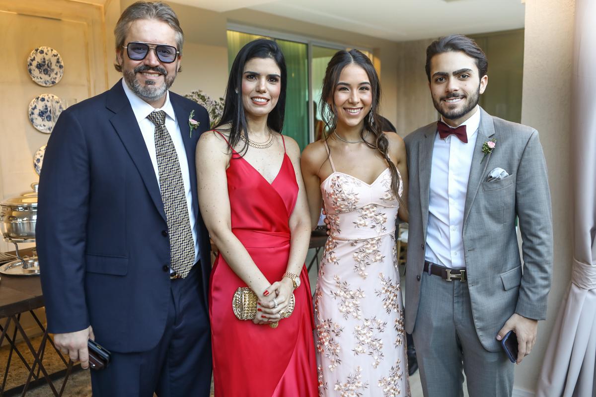 Rodrigo E Ticiana Sousa, Nicole Brooks E Rodrigo Sousa