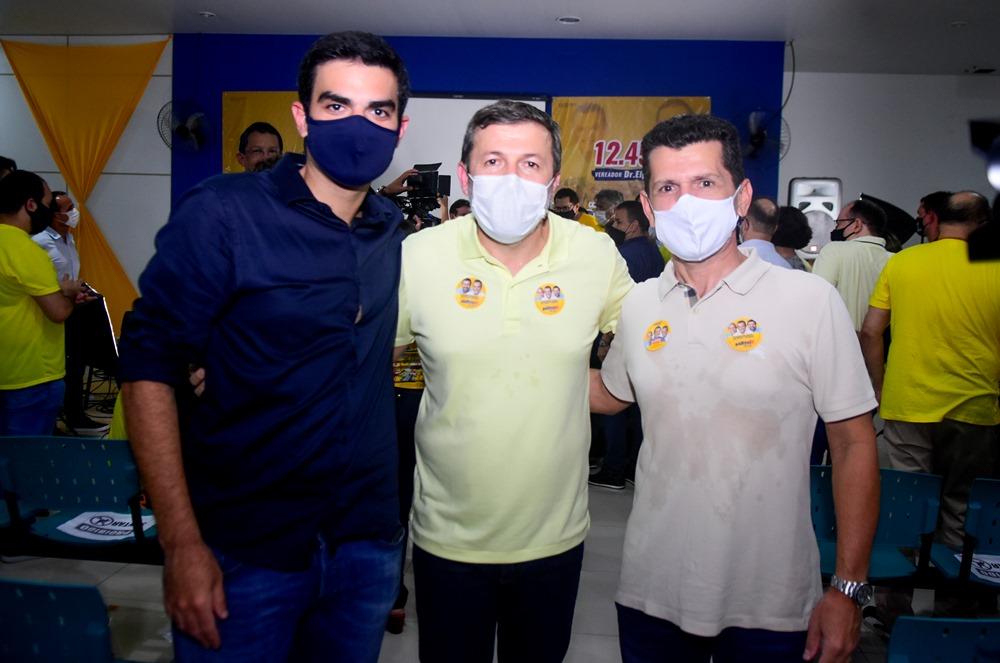 Rodrigo Nogeira, Elcio Batista E Erick Vasconcelos