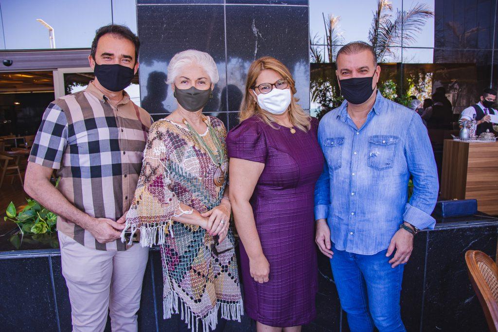 Rosalvo Ponte, Alodia Guimaraes, Ana Pinheiro E Ubirajara Bazani