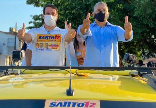 Salmito Filho participa de atos de campanha na Capital e no interior