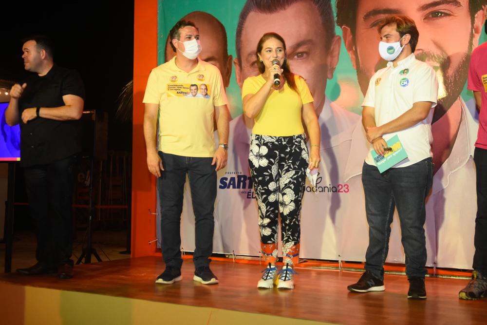 Samuel Dias, Patricia Macedo E Claudio Nelson