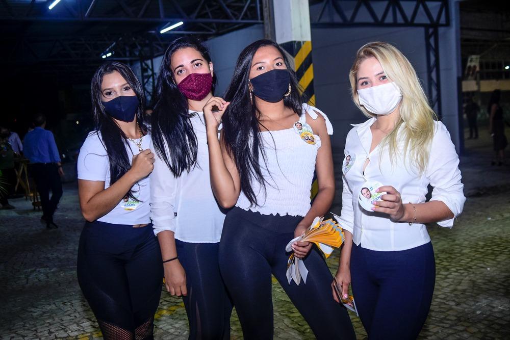 Sandra Cristina, Samara Queiroz, Brena Kelly E Camila Lima