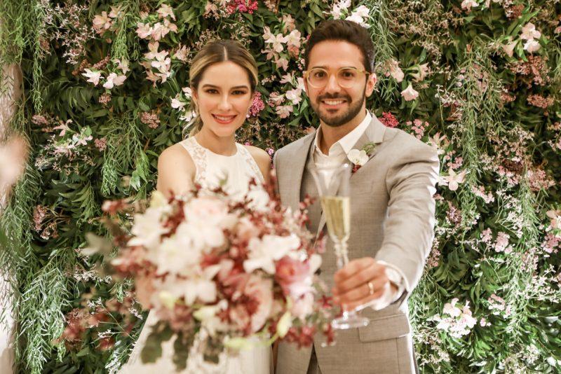 Chuva de Arroz - Sara Cidrão e Pablo de Tancredo sobem ao altar da Igreja do Líbano para tornarem-se marido e mulher