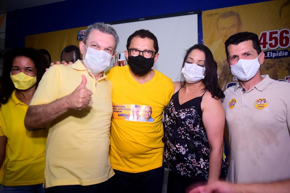 Sarto Nogueira, Dr. Elpídio E Erick Vasconcelos