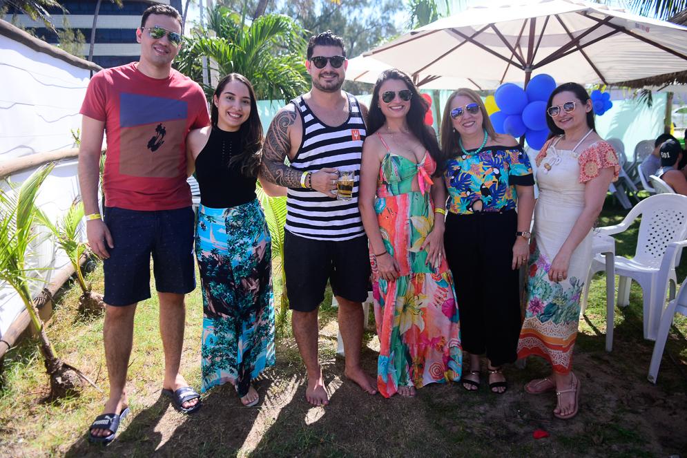 Simon Kildare E Larissa Rodrigues, Eric Moreira, Allane Magalhães, Micheline Albuquerque E Danielle Ribeiro