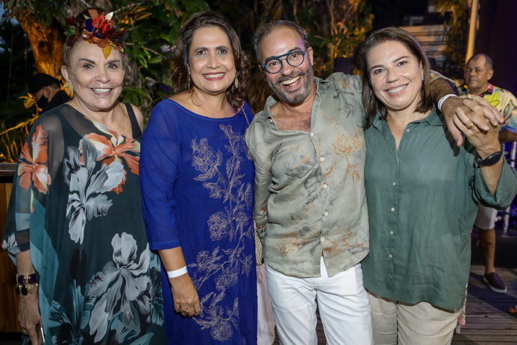 Simone Belan, Cristina Mendes, Marcos Novais E Denise Bezerra