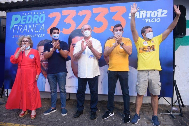 Socorro França, Pedro França, Ciro Gomes, Alexandre Pereira E Élcio Batista (2)