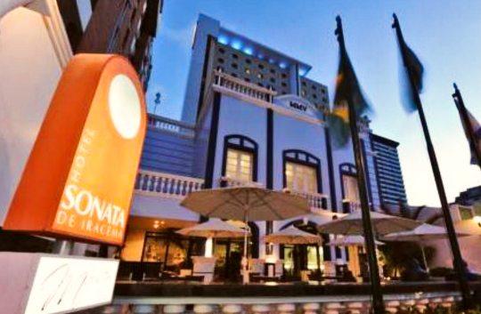 Hotel Sonata de Iracema comemora a elevação de 70% na taxa de ocupação