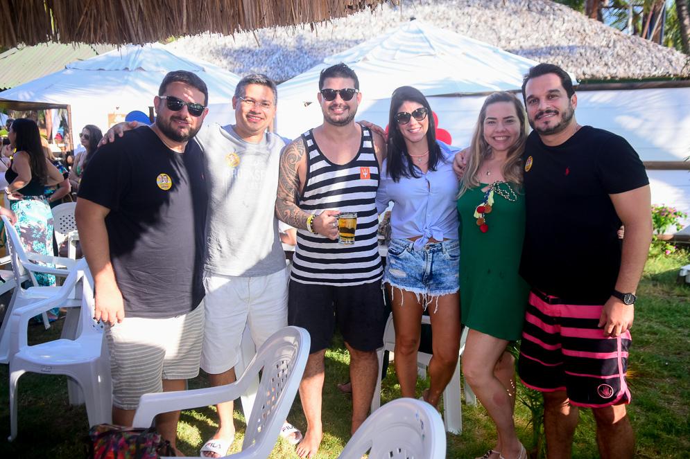 Thiago Guimarães, Eric Moreira, Natalia Porto, Kelly Viana E Victor Monteiro