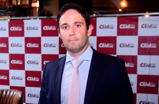 Tiago Asfor é o coordenador da Comissão Estadual das Relações Brasil-China