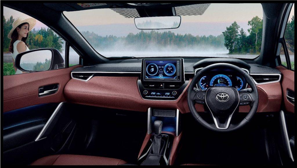Toyota Corolla 2021 Cross (4)