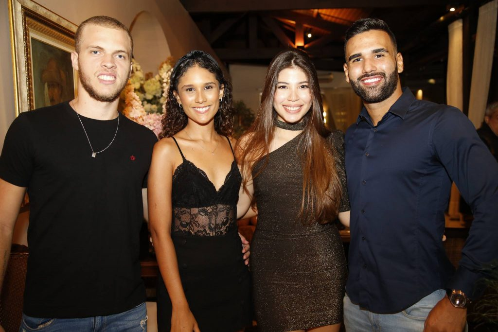 Valdecy Oliveira, Jamila Azim, Lara Holanda E Irands Bastos
